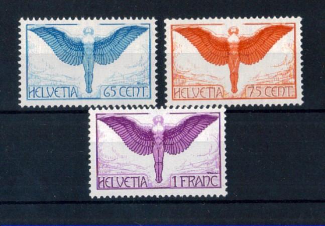 1924 - LOTTO/10655N - SVIZZERA - POSTA AEREA ICARO 3v. - NUOVI