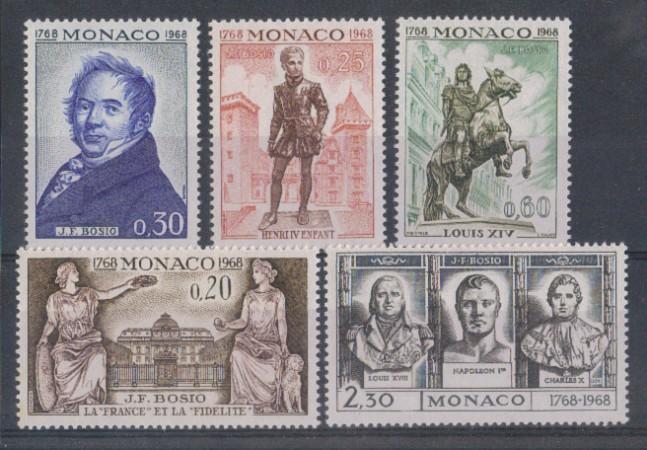 1968 - LOTTO/4566 - MONACO - J.F.BOSIO
