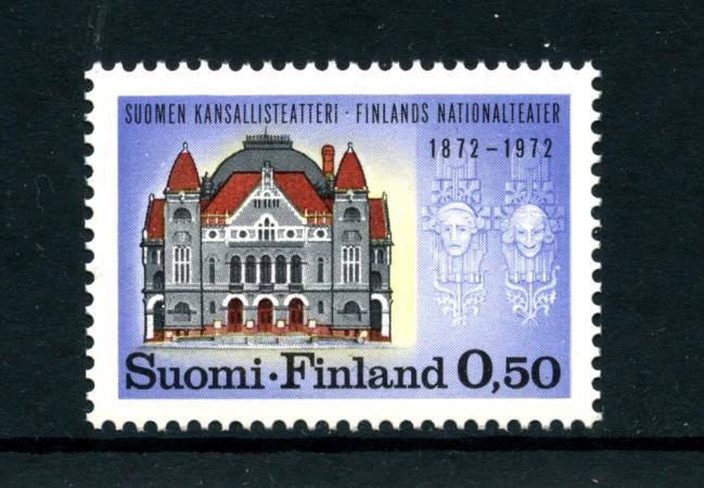 1972 - LOTTO/24200 - FINLANDIA - TEATRO NAZIONALE - NUOVO
