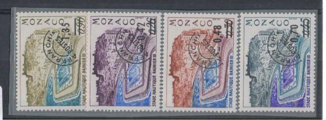 1975 - LOTTO/4377 - MONACO - PREOBLITERATI 4v.