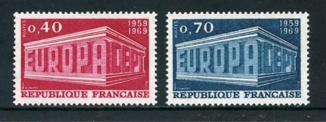 1969 - FRANCIA - EUROPA 2v. - NUOVI - LOTTO/25980