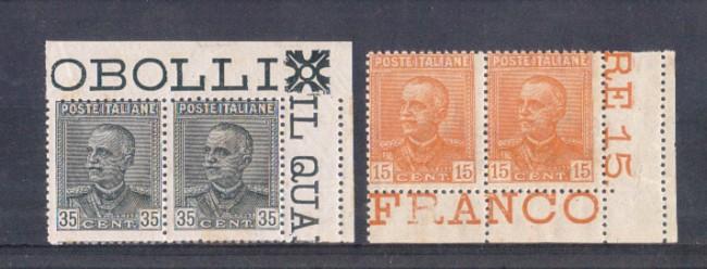 1929 - LOTTO/REG241CPNC - REGNO - EFFIGIE DEL RE - COPPIA NUOVI