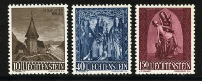 1957 - LOTTO/12846 - LIECHTENSTEIN - NATALE 3v. - NUOVI