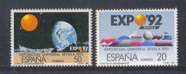 1987 - LOTTO/3083 - SPAGNA - EXPO 92