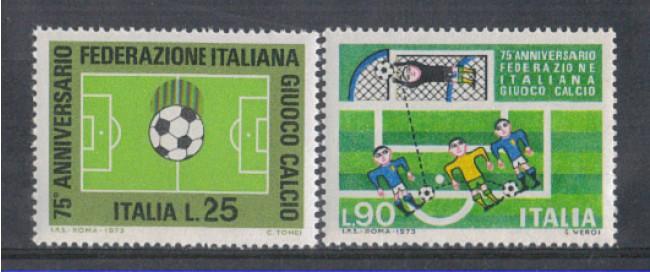 1973 - LOTTO/6576 - REPUBBLICA - FEDERAZIONE  CALCIO
