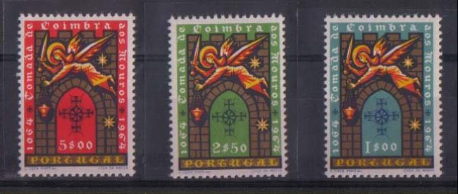 1965 - LOTTO/9804 - PORTOGALLO - COIMBRA 3v.