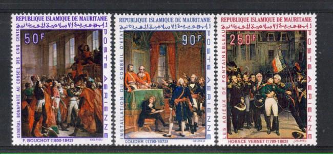 1969 - LBF/2616  - MAURITANIA -  POSTA AEREA ANNIV.  NAPOLEONE