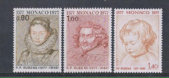 1977 - LOTTO/5039 - MONACO - 4° CENTENARIO DI RUBENS