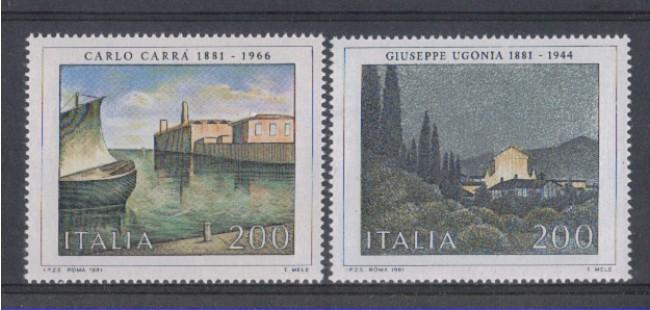 1981 - LOTTO/6748 - REPUBBLICA - ARTE 8° SERIE