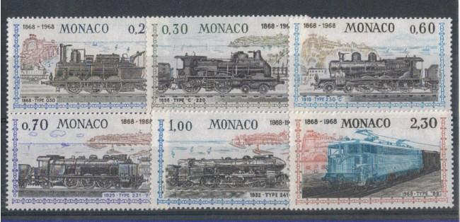 1968 - LOTTO/4367 - MONACO - CENTENARIO FERROVIA LOCOMOTIVE
