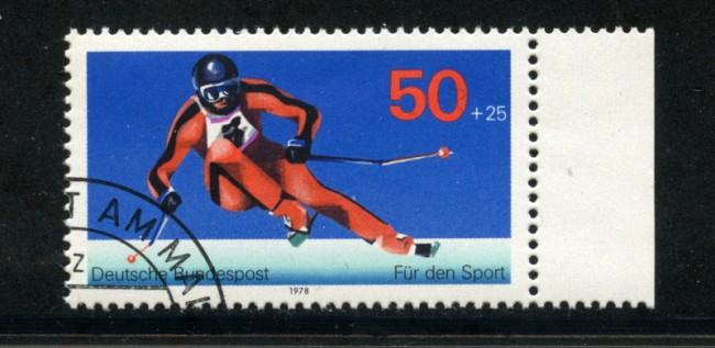 1978 - LOTTO/18999U - GERMANIA - AIUTO ALLO SPORT - usato