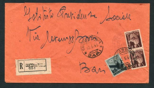 1946 - LOTTO/18284 - LUOGOTENENZA - UMBERTO  RE DI MAGGIO