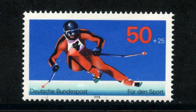 1978 - LOTTO/18999 - GERMANIA - AIUTO ALLO SPORT - NUOVO
