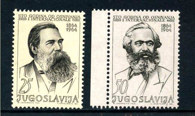 1964 - YUGOSLAVIA - INTERNAZIONALE SOCIALISTA 2v. NUOVI - LOTTO725009