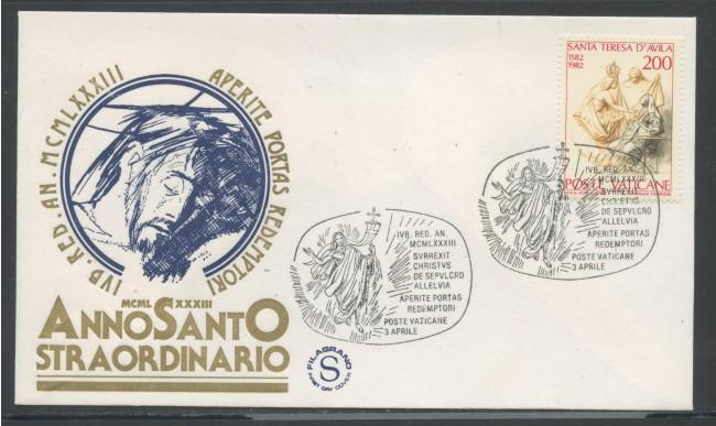 1983 - VATICANO/ITALIA - ANNO SANTO STRAORDINARIO - 12 BUSTE CON ANNULLI SPECIALI - LOTTO/31162