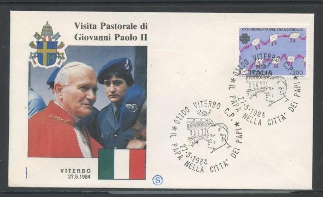 1984 - ITALIA - VITERBO - VISITA DI S.S. GIOVANNI PAOLO II° - LOTTO/31170