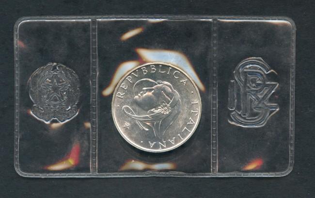 1987 - REPUBBLICA - 500 LIRE ARGENTO FAMIGLIA - LOTTO/M28954