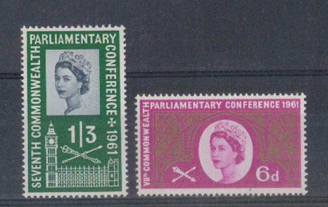 1961 - LOTTO/4665 - GRAN BRETAGNA - CONFERENZA COMMONWEALTH