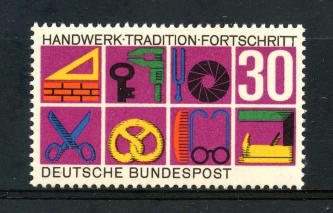 1968 - GERMANIA FEDERALE - 30p. PRODOTTI ARTIGIANATO - NUOVO - LOTTO/30942