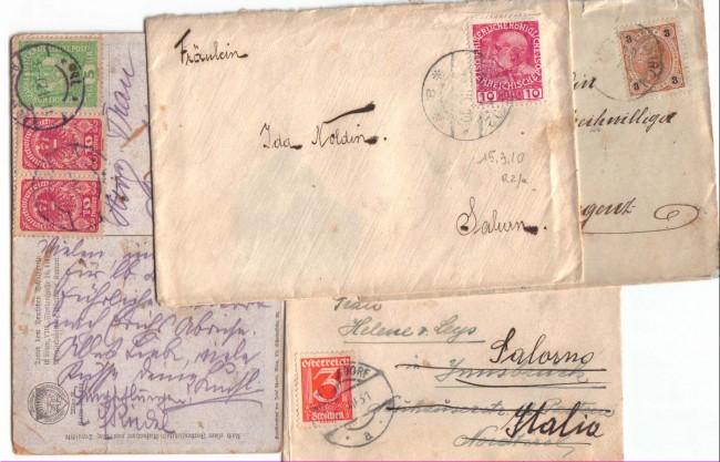 1901/30 - LBF/2028 -  AUSTRIA - LOTTO DI 18 BUSTE
