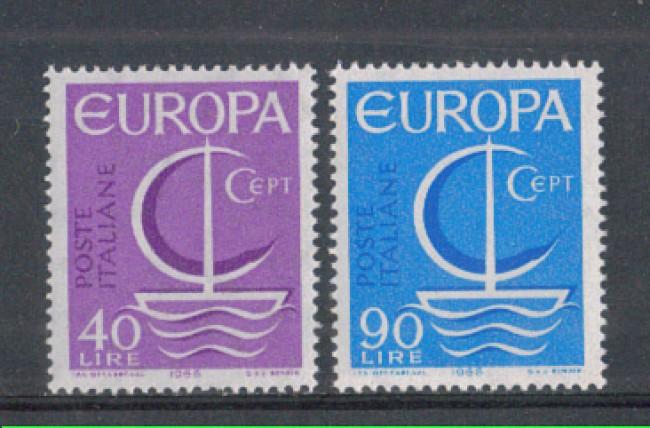 1966 - LOTTO/6456 - REPUBBLICA - EUROPA 2v.