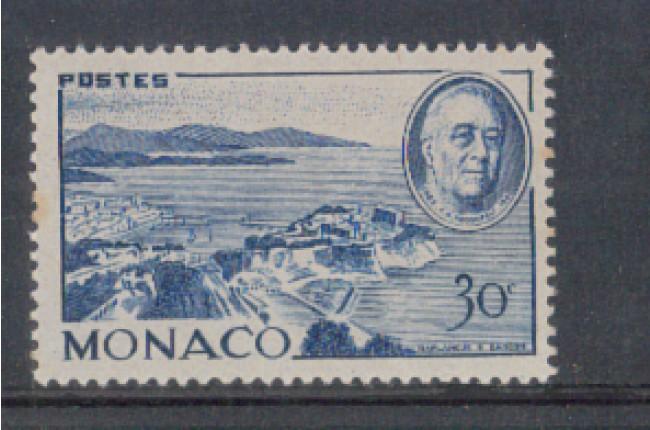 1946 - LOTTO/8587B - MONACO - 30c. ROOSEVELT