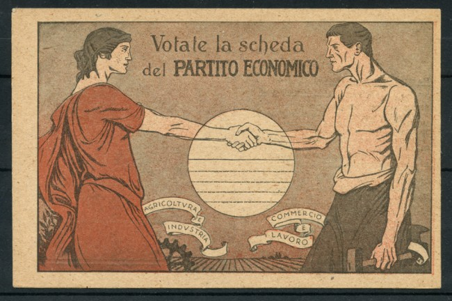 1919 - LOTTO/22949 - PARTITO ECONOMICO - CARTOLINA NUOVA