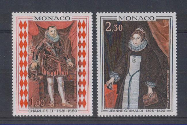 1968 - LOTTO/8456 - MONACO - RITRATTI DI PRINCIPI