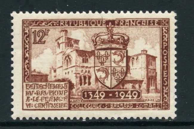 1949 - FRANCIA - ANNESSIONE DELFINATO - LING. - LOTTO/28496
