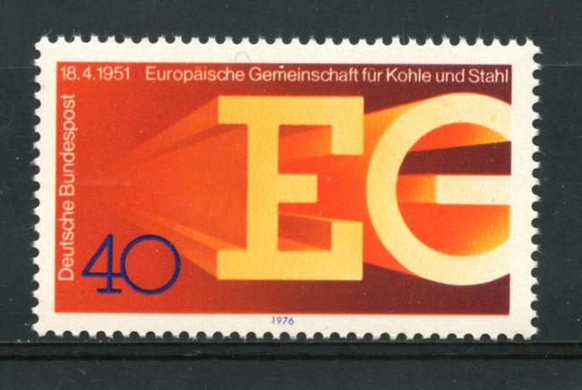 1976 - LOTTO/18973 - GERMANIA FEDERALE - CARBONE E ACCIAO - NUOVO