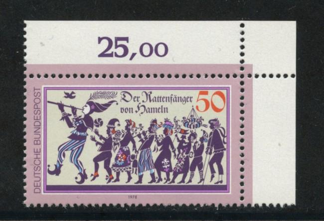 1978 - LOTTO/19003 - GERMANIA - PIFFERAIO DI HAMELN - NUOVO