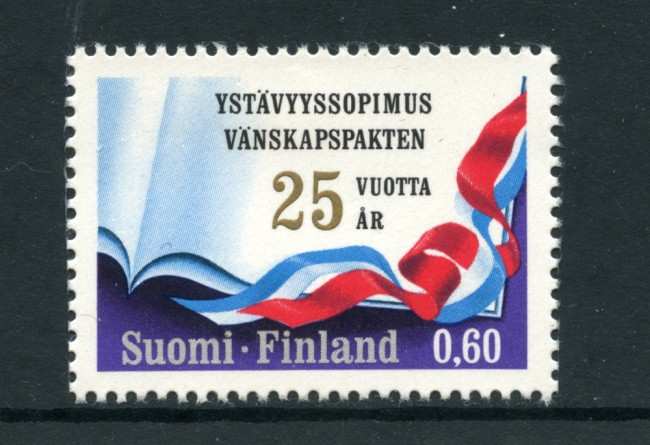 1973 - LOTTO/24204 - FINLANDIA - AMICIZIA FINLANDIA/ URSS  - NUOVO