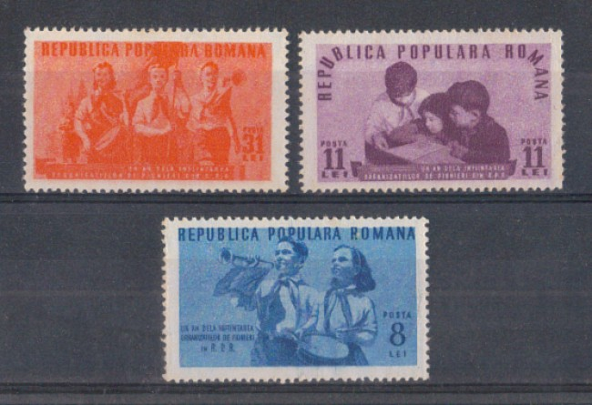 1950 - LBF/2706 - ROMANIA - BAMBINI PIONIERI