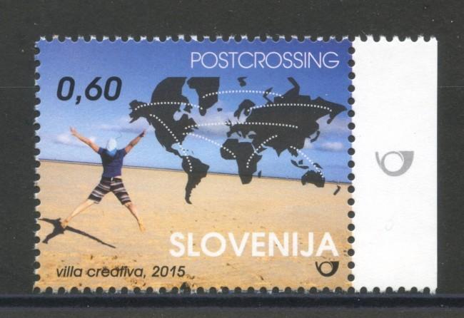 2015 - SLOVENIA - SCAMBIO POSTALE - NUOVO - LOTTO/34606