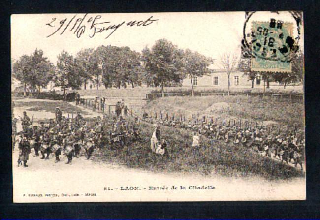 FRANCIA - 1905 - LBF/1314 - LAON  ENTREE DE LA CITADELLE