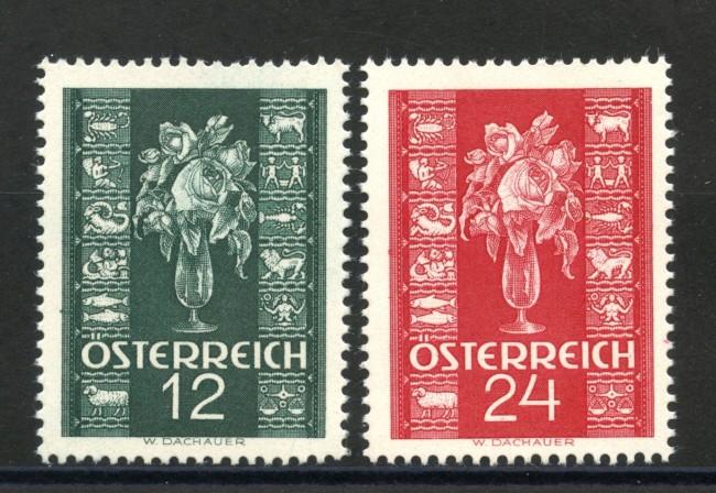 1937 - AUSTRIA - NUOVO ANNO 2v.  NUOVI - LOTTO/34051