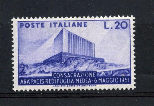 1951 - REPUBBLICA - 20 LIRE ARA PACIS - NUOVO - LOTTO/30315