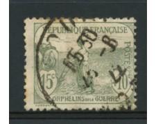 1917/19 - LOTTO/11805 - SVIZZERA - 15+10c. PRO ORFANI DI GUERRA - USATO