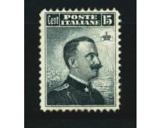 1906 - LOTTO/11557 - REGNO - 15c. EFFIGIE DI VITTORIO EMANUELE III° - NUOVO