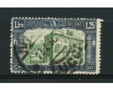 1930 - LOTTO/11639 - REGNO - 1,25+30c. PRO OPERE PREVIDENZA - USATO