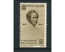 1935 - LOTTO/11729 - REGNO - 30c. VINCENZO BELLINI - NUOVO