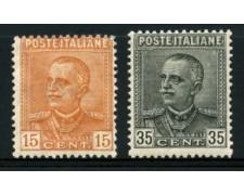 1929 - LOTTO/11768 - REGNO - EFFIGIE 2v. - LING.