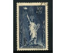 1937 - LOTTO/11784 - 50+25c. PRO RIFUGIATI POLITICI - USATO