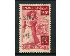 1938 - LOTTO/11788 - FRANCIA - 65+60c. FRANCESI RIMPATRIATI - USATO