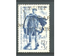 1950 - LOTTO/11830 - FRANCIA - GIORNATA FRANCOBOLLO 1v . -  USAT0