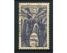 1951 - LOTTO/11831 - FRANCIA - GIORNATA FRANCOBOLLO - USATO