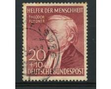 1952 - LOTTO/11836 - GERMANIA FEDERALE - 20+10p. BENEFICENZA - USATO