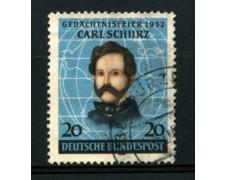 1952 - LOTTO/11841 -  GERMANIA FEDERALE - CARL SCHURZ - USATO