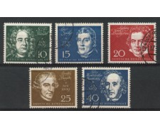 1959 - LOTTO/11844 - GERMANIA FEDERALE - BEETHOVEN HALLE 5v. - USATI