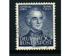 1953 - LOTTO/11848 - GERMANIA FEDERALE - 30p. VON LIEBIG - USATO